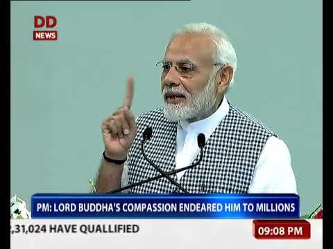 PM Modi inaugurates Buddha Jayanti celebrations