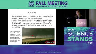 2018 Fall Meeting Press Conference: New insights into the formation of tornadoes