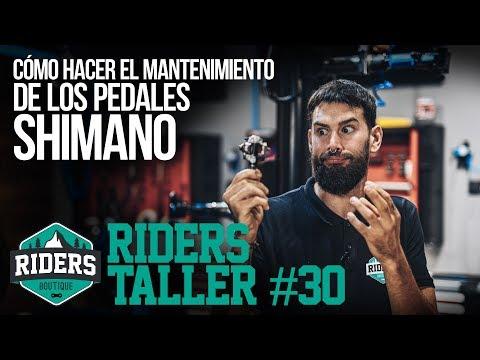 Cómo Hacer El Mantenimiento De Los Pedales Shimano. Riders Taller #30