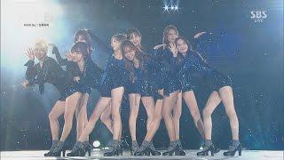 [161001 BOF 개막공연] Girls' Generation SNSD (소녀시대) - Intro+Lion Heart+Gee (Full Cut)