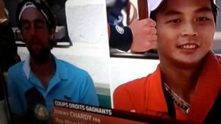 Le supporter bruyant de Jérémy Chardy à Roland Garros 2012