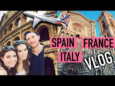 Spain, France, Italy - TRAVEL VLOG
