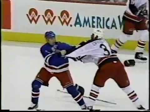 Jean-Luc Grand-Pierre vs Matthew Barnaby