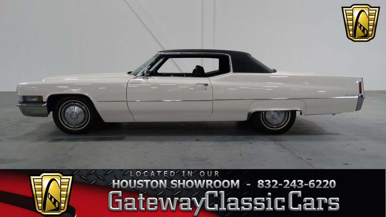 1956 cadillac deville for sale on classiccars com 9 - 1970 Cadillac Coupe Deville 195 Gateway Classic Cars Of Houston Youtube
