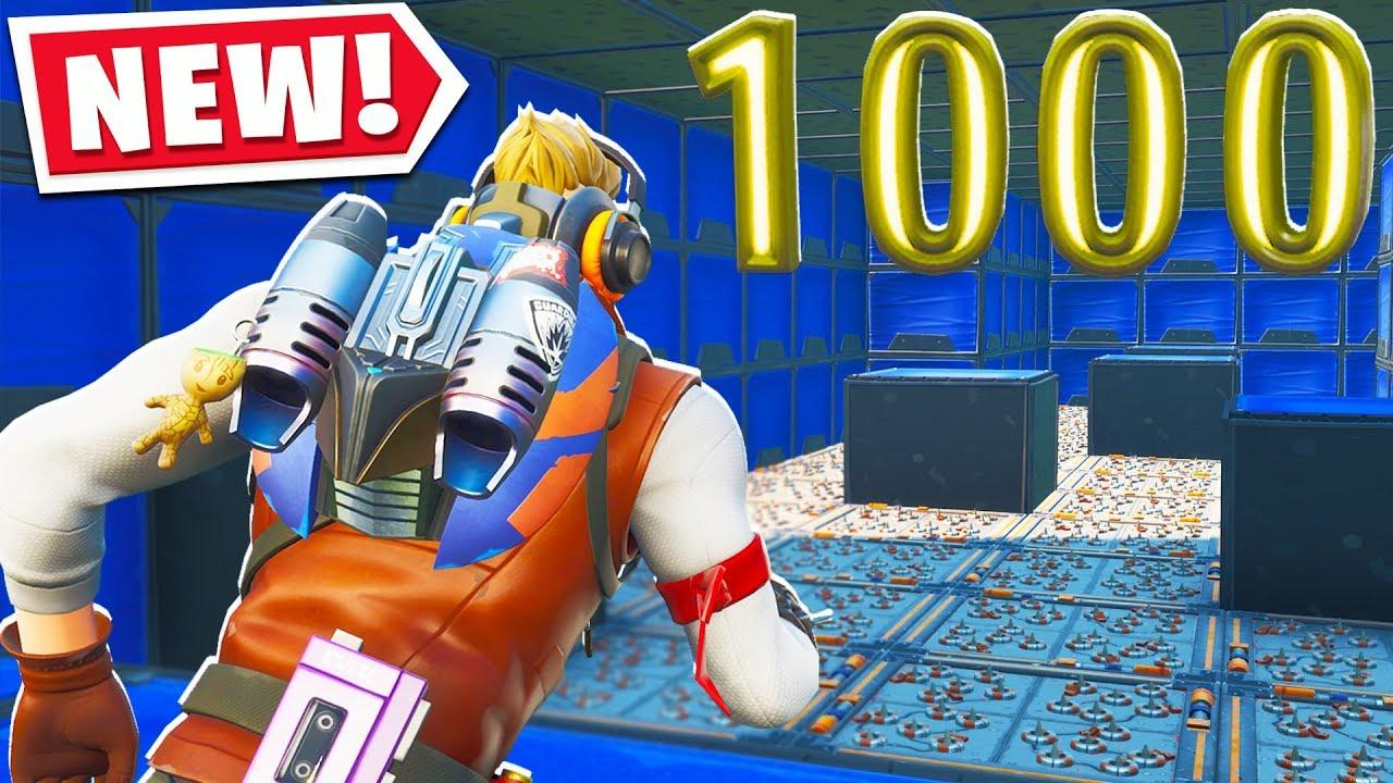 Deathrun Fortnite Island Code I Played A 1000 Level Default Deathrun Fortnite Creative Mode Youtube