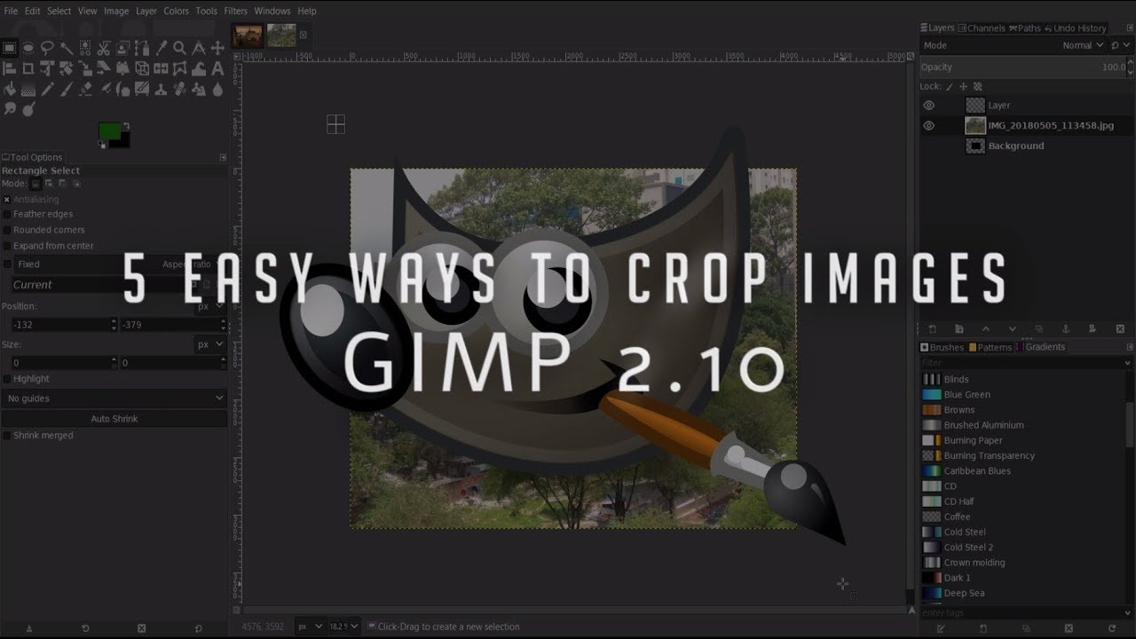 Change eye color quick & easy | gimp tutorial for beginners youtube.