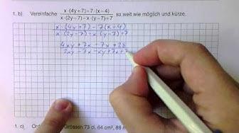Zentrale Aufnahmeprüfung Zürich 2012 Kurzgymnasium Mathematik Teil 1