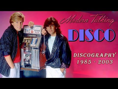 ✮ Модерн Токинг / M̲ode̲rn̲ T̲a̲lki̲n̲g̲ ✮ Дискография / Discography - 1985 - 2003 ✮