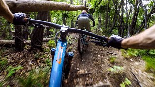 They're not afraid to get SKETCHY out here 🇯🇵 Mountain Biking Japan