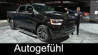 2019 Dodge Ram 1500 REVIEW all-new - NAIAS 2018 - Autogefühl