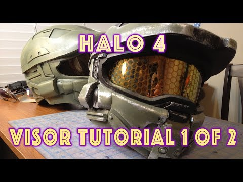 Halo 4 Mark VI Visor Tutorial Part 1 Of 2