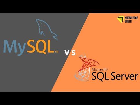 Difference between MySQL