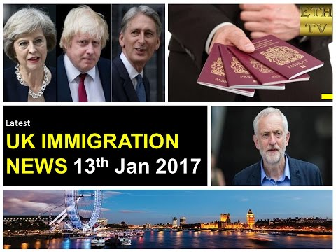 UK Immigration News 13th January 2017