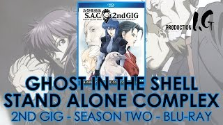 Ghost In The Shell: Stand Alone Complex 2nd GIG (2004-05) Blu-ray Collection   攻殻機動隊   Unboxing