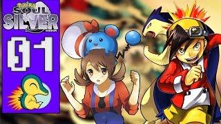 Pokémon Soul Silver #01 - O INÍCIO DE UMA NOVA AVENTURA! (1080p/2016)
