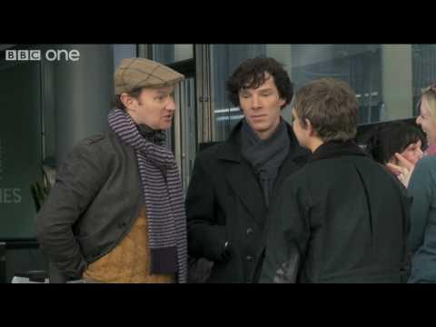 Steven Moffat and Mark Gatiss interview - Sherlock - BBC One