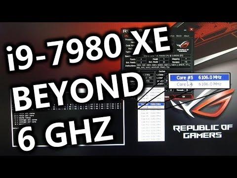 Intel i9-7980XE BEYOND 6 GHz (en)