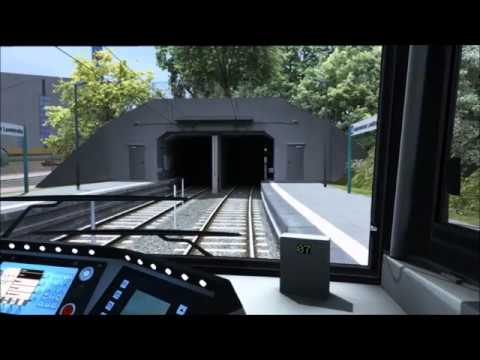 [Train Simulator 2018] U-Bahn Frankfurt - U1 Führerstandsmitfahrt (Cab ride)