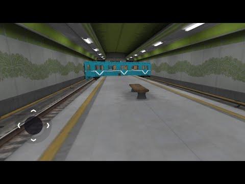 Баги и катание на поезде дьявола в игре Subway Simulator 3D