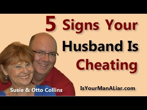 how to know husband is cheating