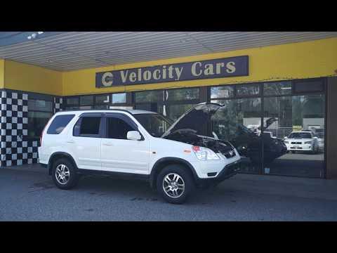 Vancouver Velocity Cars #13339 Honda CR-V 4WD (JDM K24)