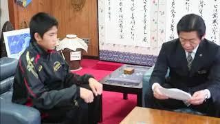 全国大会に石垣中学校から2名が沖縄県代表として出場