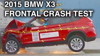 2015 BMW X3 | Frontal Crash Test(NHTSA Frontal Crash Test Overall Safety Rating: 5 Stars 2015 BMW X3 sDrive28i xDrive28d xDrive28i xDrive35i Frontal Crash Rating: 5 Stars (Driver: 5, ..., 2015-01-19T16:29:36.000Z)