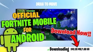 Official Fortnite mobile for Android | Download Now...