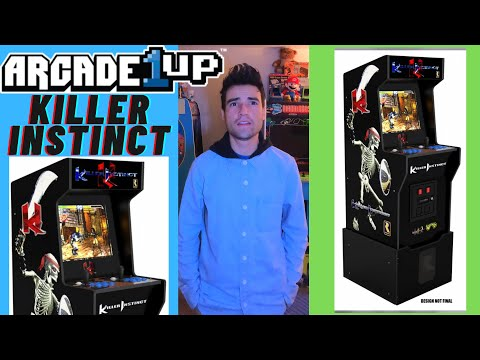 ARCADE1UP IS RELEASING A KILLER INSTINCT CABINET CES 2021 from Brick Rod