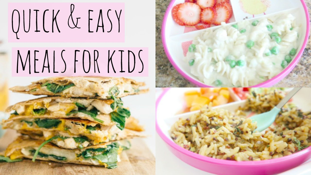 Quick And Easy Lunch Ideas For Kids Youtube
