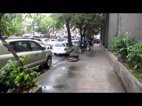 Walking From Baywalk to Robinson's Mall Manila