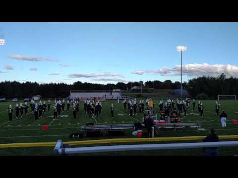 Manistee High School Marching Band 9-11 Tribute
