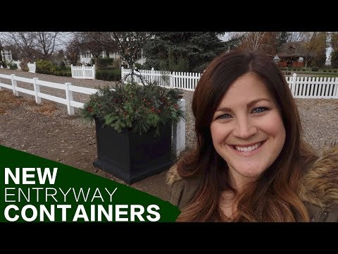 NEW Entryway Containers // Garden Answer