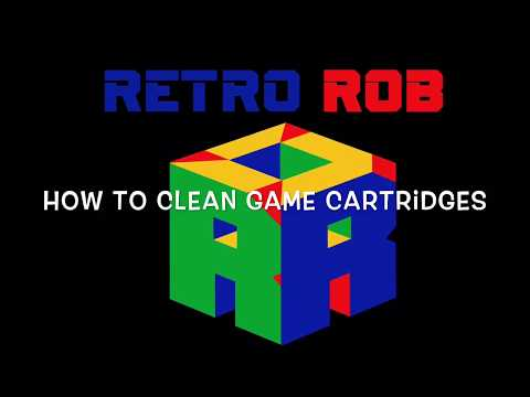 How to Clean Game Cartridges