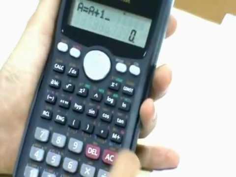 Máy tính Casio fx 570MS tính tổng trong một khoảng như thế nào?