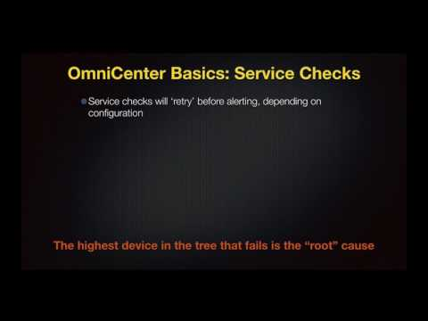 OmniCenter Administrator Basics 03 - Service Checks