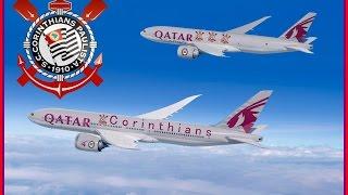 Qatar Airways e Corinthians e podia também Ferrari