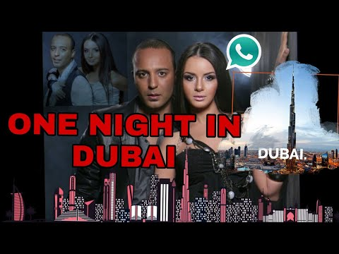 Close Ur Eyes And End The Lights All We Need Is One Night In Dubai | ONE NIGHT IN DUBAI STATUS