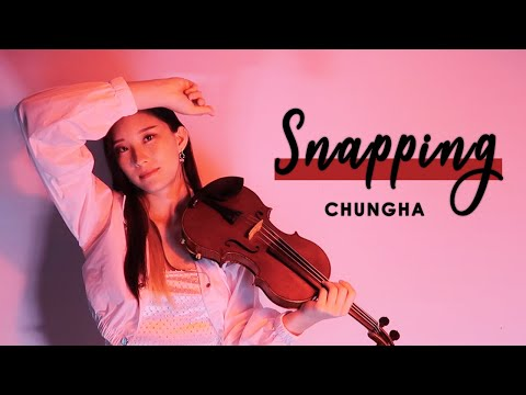 《snapping》--chungha-(청하-)-violin-cover-(w/sheet-music)