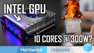 News Corner   Intel Xe GPU DG1, DDR5 is Nearly Here, Power Hungry 14nm 10-Core?