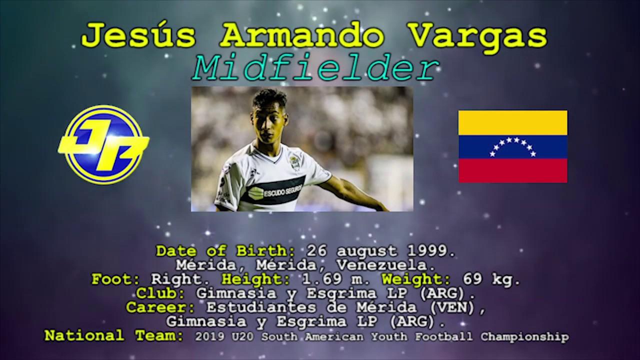 Download JESUS VARGAS. MIDFIELDER. JP Talento Deportivo