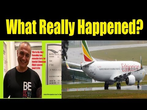 Ethiopian Airlines Flight ET 302: The Inside Story