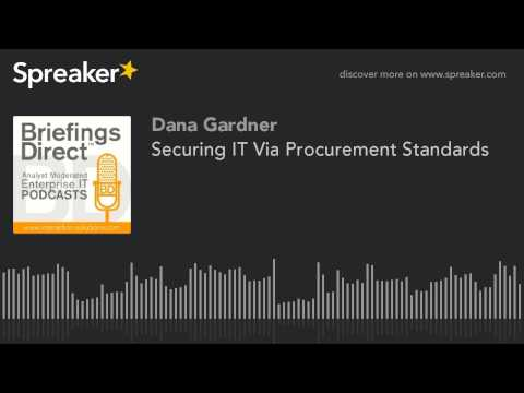 Securing IT Via Procurement Standards
