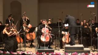 C. Saint-Seans. Cello Concerto. Boris Andrianov and RNO conductor Masahiro Izaki