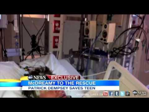 Patrick Dempsey Saves Teens Life