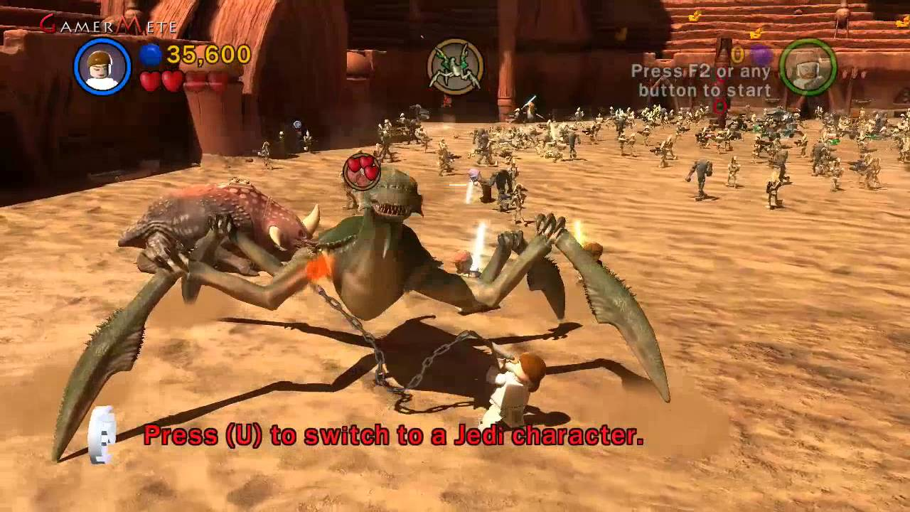Lego Star Wars 3 The Clone Wars True Jedi Episode 1 Lets