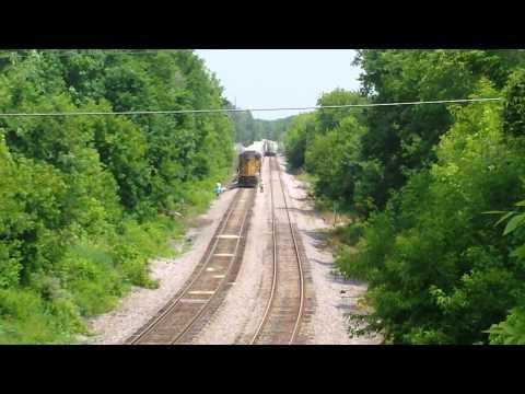 Train derailment St Francis Wi.