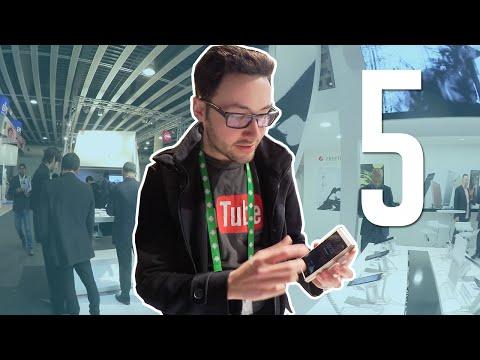 5 Smartphones Insolites au Mobile World Congress 2016