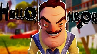 Hello Neighbor (Full Game) Gameplay Walkthrough | WE GET CAPTURED?! | Let's Play (PC) #1