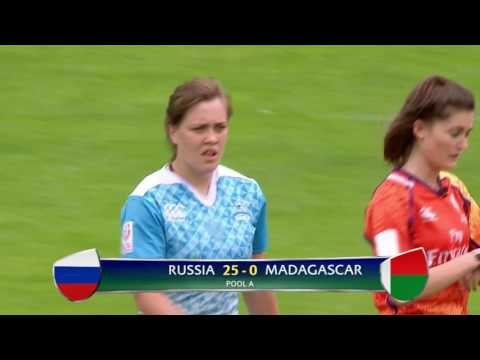 Womens 7s 2016 Dublin Russia vs Madagascar
